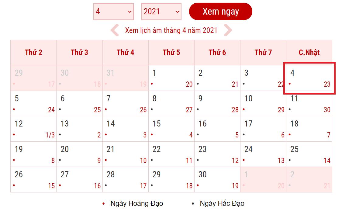 Tết Thanh Minh năm 2021