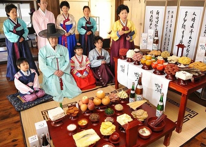Tết Trung Thu ở Hàn Quốc