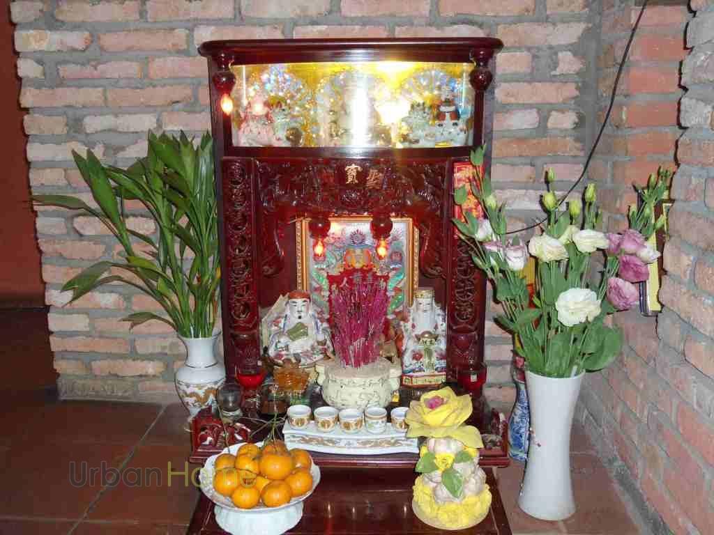 Phong thủy bàn thờ thần tài ông địa